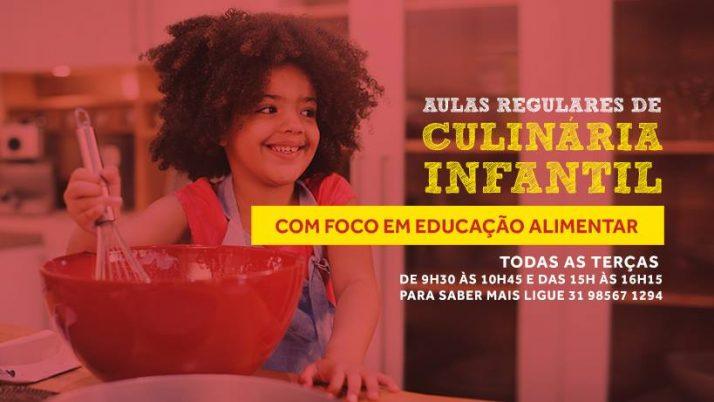 Oficinas Regulares de Culinária Infantil com Foco em Educação Alimentar