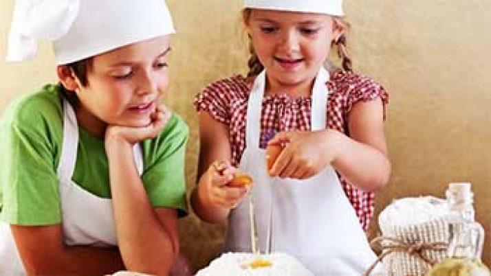 Oficina de Culinária Infantil